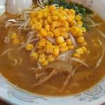 汐崎 - 味噌コーンラーメンです。