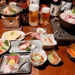 津軽じょっぱり漁屋酒場 - 料理写真:2019忘年会