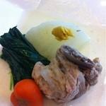 ゆう膳 咲くら - 豚のスペアリブの和風ポトフ