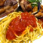 銀座ライオン - シェフズランチ(照焼チキンと牛カルビ焼き肉)