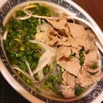 ハ ノイ レストラン - 牛肉のフォー¥750