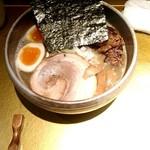 119359110 - 特製濃厚煮干しそば(醤油)