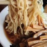 中華そば処 琴平荘 - 麺アップ