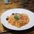 ポモドーロ - 料理写真:秋鮭と秋茄子のジンジャートマトソース