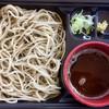蕎邑 - 料理写真:「会津山都蕎麦  蕎邑(きょうむら)【福島】」さんの「高遠(たかとう)そば」@700(税込)  そばつゆに大根おろしのツユが入っていて、かなり辛いです。