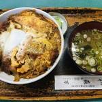 そば 森万  - 料理写真:TOKYO-Xカツ丼