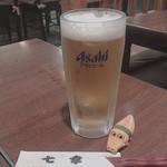 七幸 - 寒々しいカラーですが すごく美味しいビールでした(´ω`)