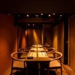 雫月 - 3〜8名様までご利用頂ける完全個室のお席です。
