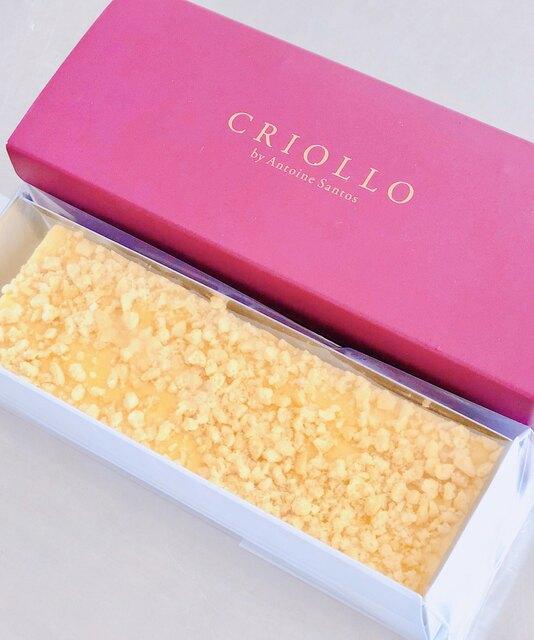 クリオロ 東京本店 - 幻のチーズケーキ(メープル仕立て)。