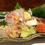 梅くら - 本日のお刺身(天草産が多い)