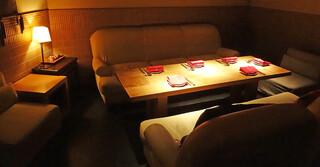 李南河 代官山店 - 半個室のソファー席