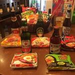 アジアンビール×居酒屋 しゃんどーる - 即席麺いろいろ