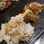 千房 - お好み+焼き飯②