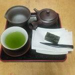 ちゃみせ 茶るん - 煎茶セット