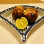 119381238 - 秋刀魚の塩焼き