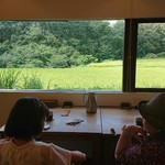 Nasusaryou - 窓の外は田舎風景が
