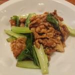 味わいお好み一力 - 豚肉の中華炒め