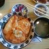 鳥新 - 料理写真:たった丼セット(ポン酢ダレをちょいのせ)