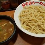 日の出らーめん - 剛つけ麺(大盛り)