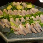 近江懐石 清元 - しゃぶしゃぶ用の鰻