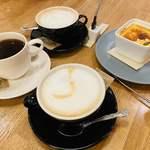 Hiranoya - ノンカフェインのアメリカン カフェラテ クレームブリュレ
