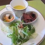 ベーカリーレストラン サンマルク - 前菜4種盛り