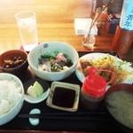 ごんわーるど - 惣菜定食1,000円