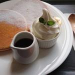 カフェ デ オラ - パンケーキ