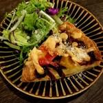 ミライスト CAFE×SWEETS×BAR - 季節野菜のキッシュ 500円