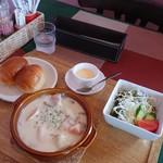 くまキッチン - ロールキャベツシチュー