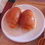 くまキッチン - ロールパン