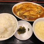 119417782 - 中華風オムレツ定食