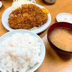 119419791 - ロースかつ定食(大)
