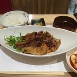 029吉祥寺食堂 - 骨付きポークリブ定食 ¥1,300