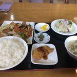 台湾料理 四季紅 - 料理写真:回鍋肉ランチ