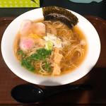 SOBA HOUSE 金色不如帰 - 料理写真:鴨脂と蛤の醤油そば@近鉄本店 催事