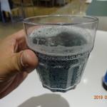 北海道あばしりザンギ亭 - 青いビール