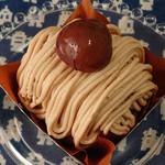 ニコラス洋菓子店 - モンブラン (\486)