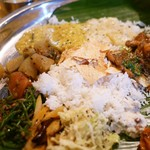 Spice&Dining KALA - 最後は色々混ぜ混ぜ。