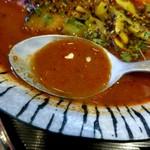 そば切り 高陣 - スープ