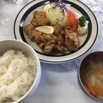 食事処 子鹿 - 料理写真:鶏の唐揚げ定食