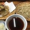 玉乃屋 - 料理写真:十割そばの天せいろ(1650円。税別)天ぷらは、海老、おくら、のり、ナス。