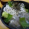 岬 丘の上食堂 - 料理写真:wしらす丼
