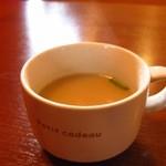 インド&ネパールレストラン WELCOME - サービスのスープ