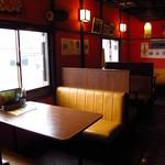 インド&ネパールレストラン WELCOME - テーブル席