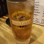 ホルモン焼肉 肉の大山 - ウーロンハイ 429円