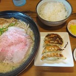 らぁ麺むらまさ - 味噌らぁ麺+Aセット