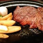名水の里 - ステーキ、200g
