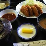 おおき食堂 - 料理写真:ミンチカツ定食