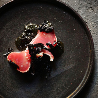 世界に誇る日本の魚介類を中心にした料理
